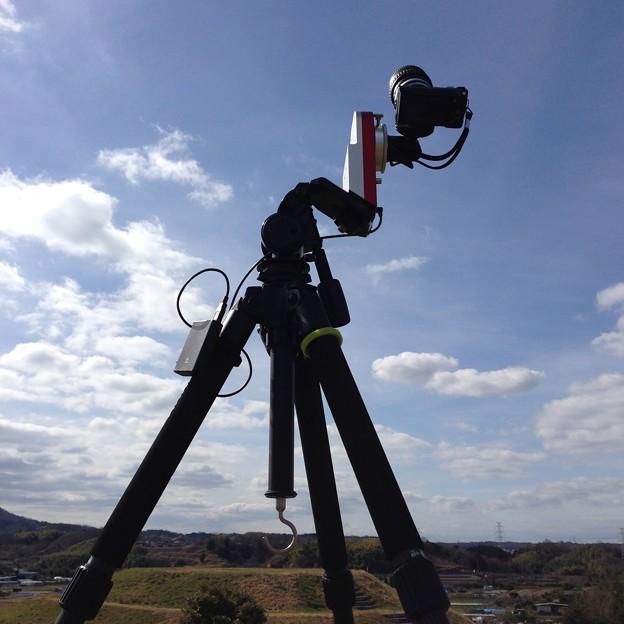 タイムラプス撮影風景