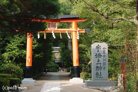 宇治上神社 鳥居2012年08月13日_DSC_0243