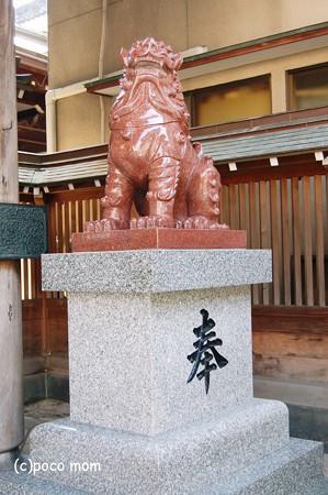 博多 櫛田神社北神門狛犬2012年08月18日_DSC_0543