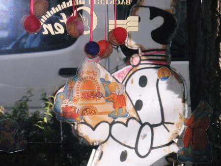 クリスマスウォールステッカー2012年12月05日_PC050041