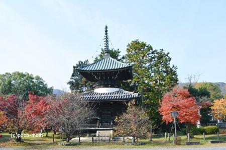 清涼寺多宝塔