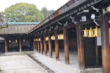 北野天満宮 社殿回廊2014年02月09日_DSC_0102