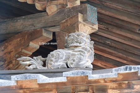 法隆寺金堂支柱飾り2014年02月10日_DSC_0299