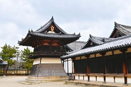 法隆寺東院伽藍 鐘楼2014年02月10日_DSC_0348