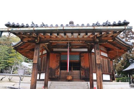 法隆寺西円堂2014年02月10日_DSC_0396