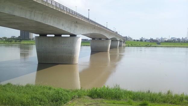 梅雨明け!でも大淀川の色は・・・