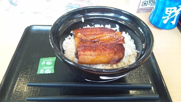 Photos: 吉野家で鰻丼!