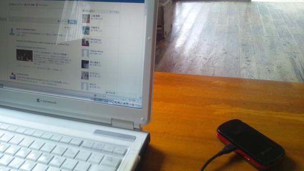 フェイスブックの勉強ちう。