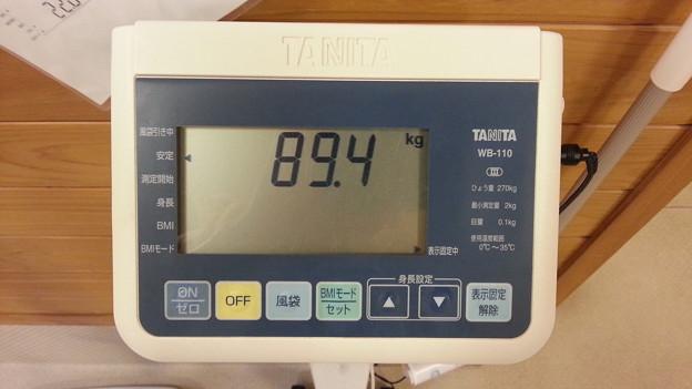 体重が・・・