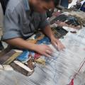 Photos: 絨毯工程
