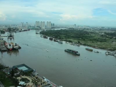 Photos: 21階からの眺めドック