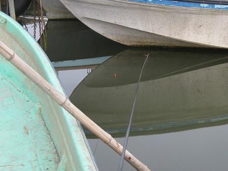 霞ヶ浦のワカサギ釣り 風景