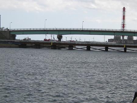 新堀割橋と仮橋?