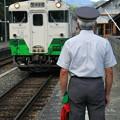 Photos: 列車到着!