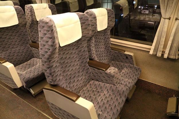 Photos: 651系 グリーン車 2人用座席
