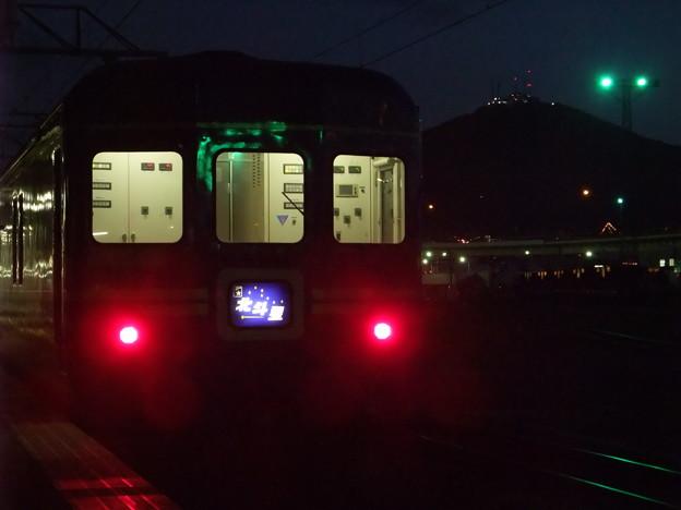 函館山と北斗星