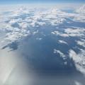 Photos: 津軽海峡上空