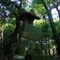 森の中の祠