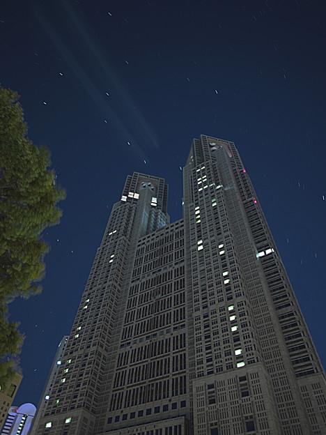 Photos: 都庁とおおくま座<残念>