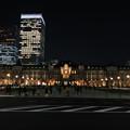 東京駅イルミネーション1