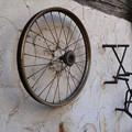 自転車パーツの装飾