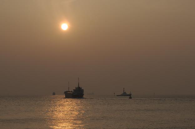 PM2.5の海