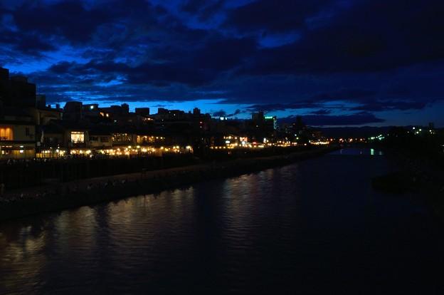 Photos: 夜の鴨川
