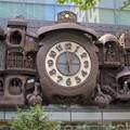 東京汐留の日本テレビの前