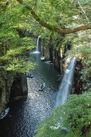 高千穂峡、真名井の滝2