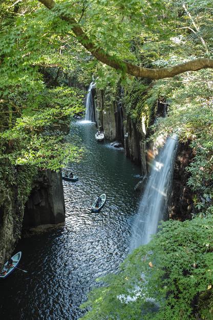 Photos: 高千穂峡、真名井の滝2