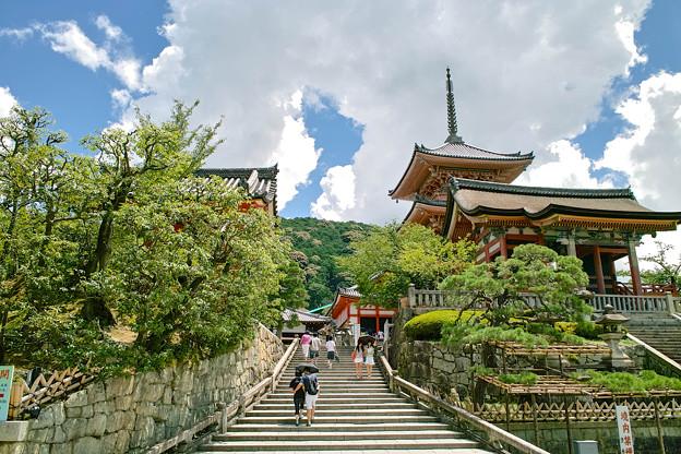 Photos: 京都清水寺の階段