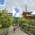 写真: 京都清水寺の階段