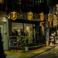 写真: 青山の夜