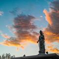 Photos: 鮮やかな雲でした