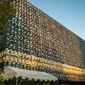 Photos: 深川不動尊の新本堂の壁