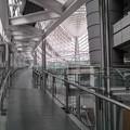 無機質な回廊