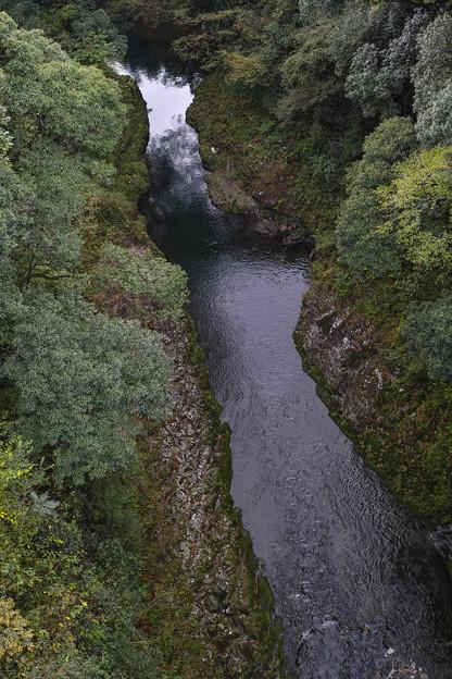 Photos: 天岩戸神社の西本宮と東本宮の間を流れる川2