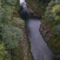 天岩戸神社の西本宮と東本宮の間を流れる川2