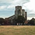 サッカー少年と根岸競馬場跡@SIGMA-DP2Merrill