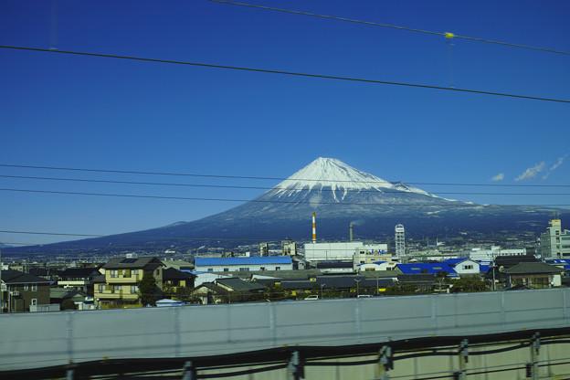Photos: Foveon Classic Blueの富士山と空