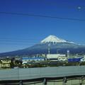 Foveon Classic Blueの富士山と空