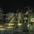 恵比寿駅の方を向いて見た恵比寿ガーデンプレイスの景色