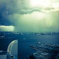 ゲリラ豪雨の境目(爆)
