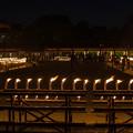 蝋燭の整列@大阪四天王寺のお盆2012