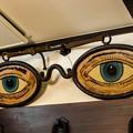 大きな眼鏡の看板