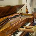 Photos: Square Pianoを弾いてみる1