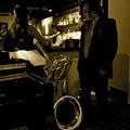 写真: Sax & Musician
