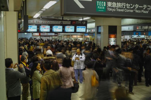 東横線渋谷駅が消滅する最後の日