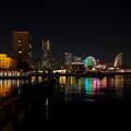 横浜港の反映