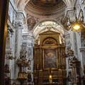 ウィーンの教会にて